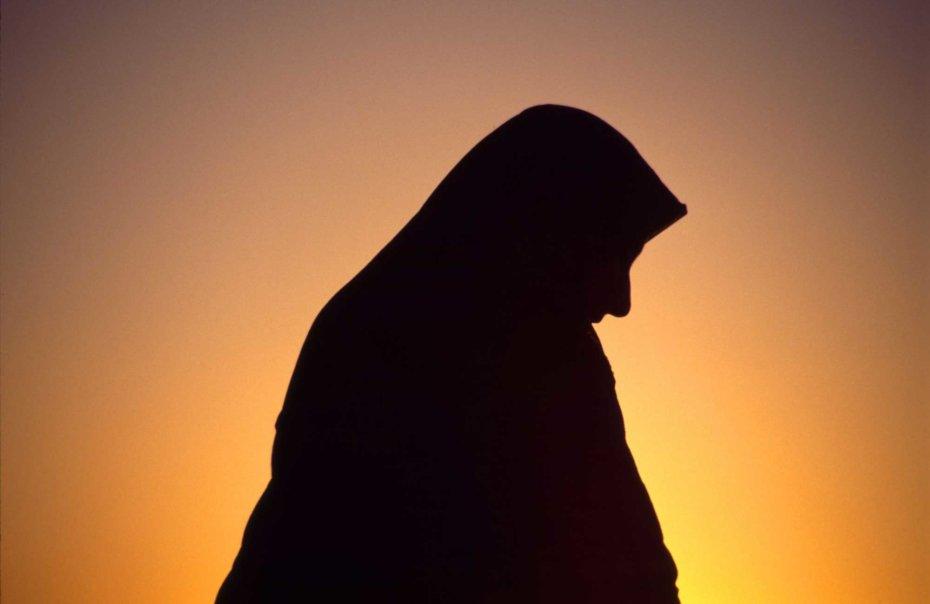 Arab Woman Silhouette