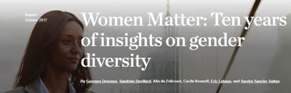 Women Matter Cover