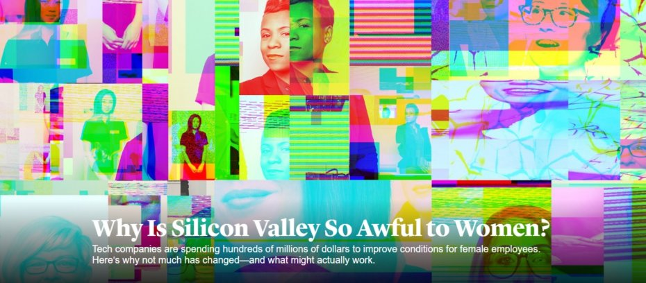 Why is Silicon Valley so Awful to Women Banner