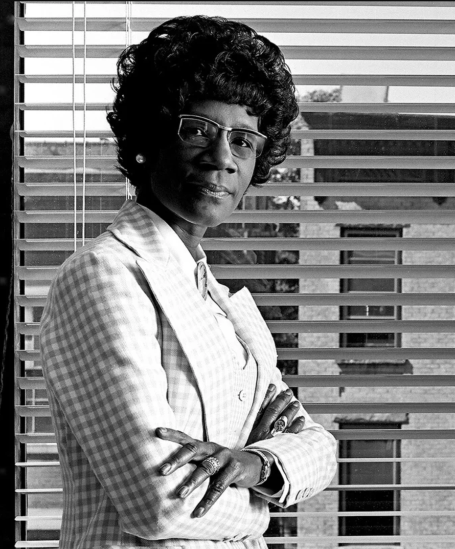 Portrait of Shirley Chisholm