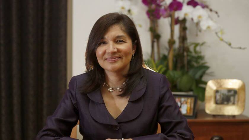 Maria S. Salinas, the first Woman and Latina to run the L.A. Chamber of Commerce