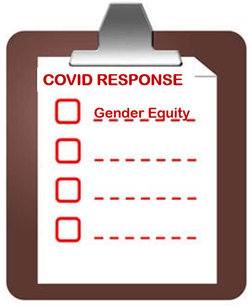 COVID-19 Response Checklist, with Gender Equity On Top of the List