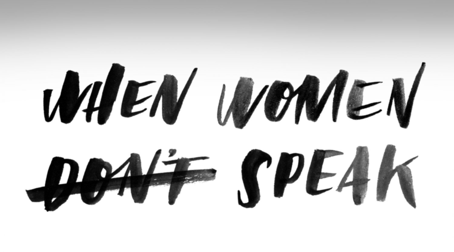 """When Women Don't Speak"", with Don't Crossed Out"