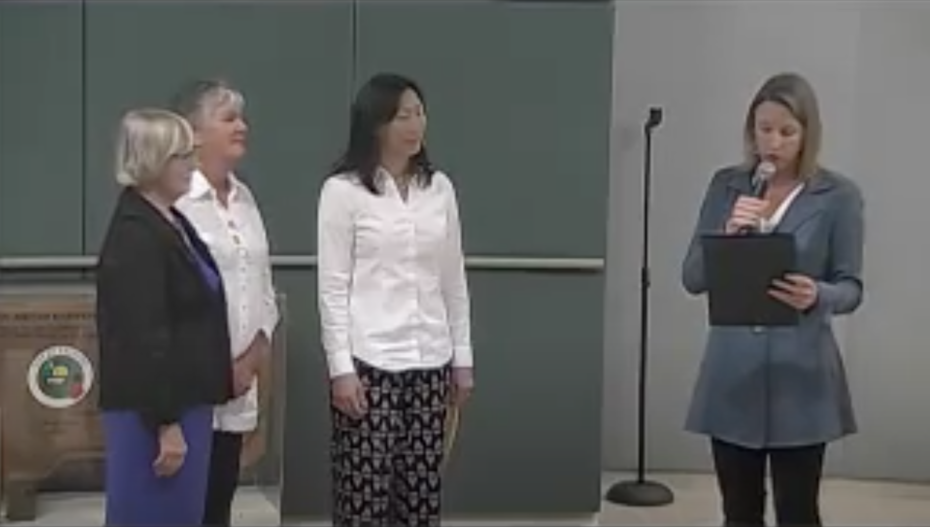Proclamation of Workplace Gender Equity Day in Encinitas