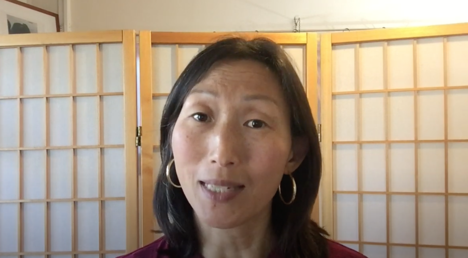 Screenshot of Dr. Hei-ock Kim from the Kim Center Fundraiser Video