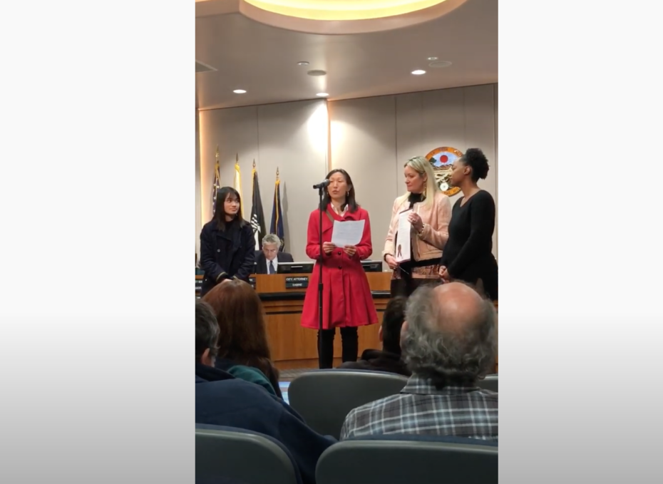 Proclamation of Workplace Gender Equity Day in La Mesa