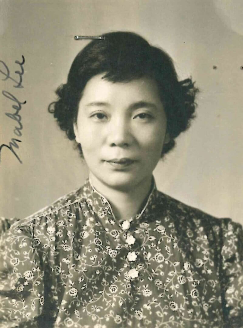 Mabel P. Lee at an Older Age