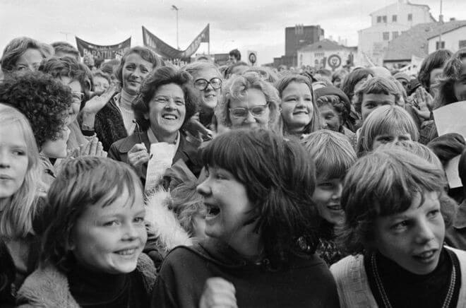 Women's Day Off in Reykjavik, 1975