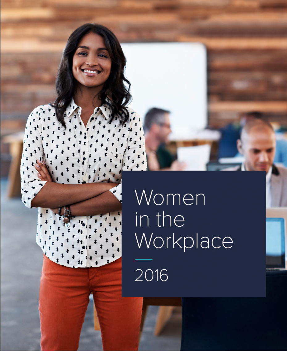 Women in the Workplace 2016 Report Cover