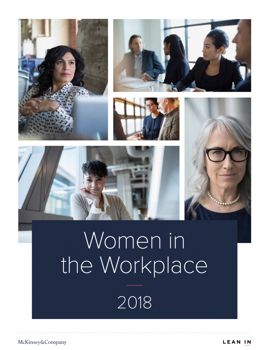 Woman in the Workplace 2018 Report Cover
