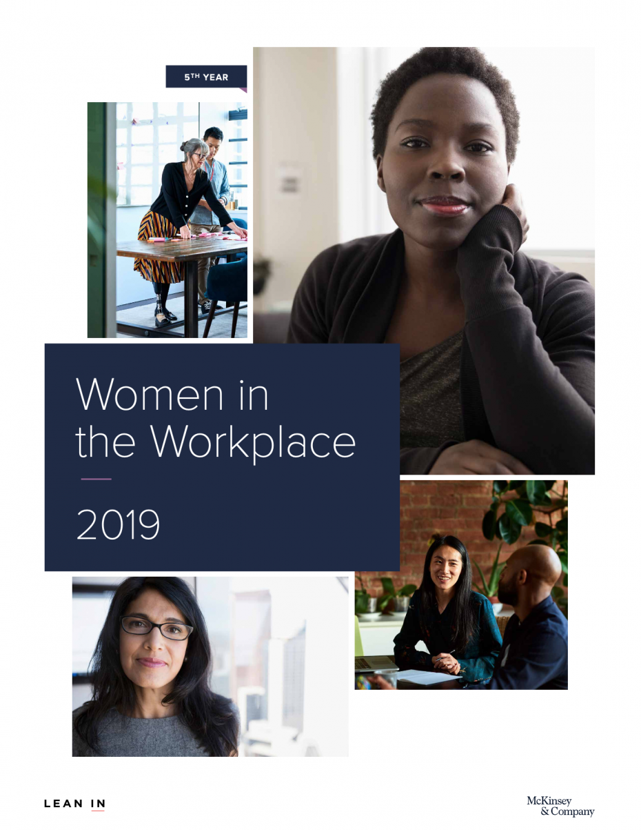 Woman in the Workplace 2019 Report Cover